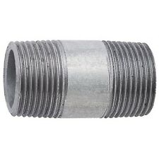 "Galvanised BSP Barrel Nipple M/M Fitting, Inc 1/2"", 3/4"", 1"""