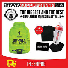 MUSCLE PHARM ARNOLD SERIES IRON MASS 2.3KG WEIGHT MUSCLE GAINER PROTEIN POWDER