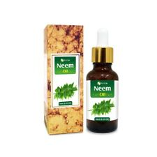 NEEM OIL 100% NATURAL PURE UNDILUTED UNCUT ESSENTIAL OIL 5ML TO 100ML