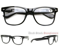 """Wayfarer Reading Glasses"" eyeglasses prescription strength"