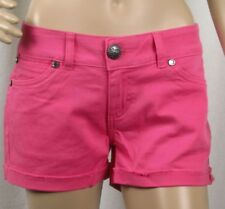 Womens Wrangler Sadie NWT Ultra Low Rise Pink Booty Up Shorts 08MWHPK Any Size