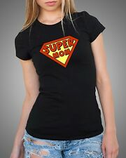 Supermom T-shirt Tshirt Gift for Mother Mommy Mom Super Mom Tee Shirt