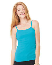 Bella - Ladies' Baby Rib Spaghetti Strap Tank Top - 1011