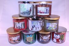 YOU PICK LOT Bath and Body Works White Barn Co. 3 Wick Candle LARGE 14.5 oz NEW!