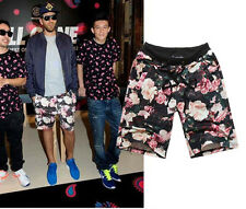 New Fashion Men Woman Floral Pullover Print Shorts Couples Popular Gift Beach