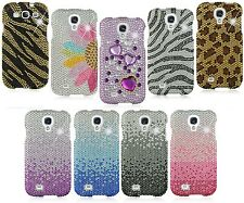 Rhinestone Full Diamond Bling Crystal Cover Shiny Case for Samsung Galaxy S4 S3
