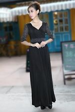 Black Maternity Party Evening Maxi Dress Prom Gowns Holiday plus sizes available