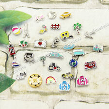 Alloy Travel Beach Mini Floating Charms for Glass Living Memory Lockets NEW  1pc