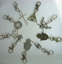 A New Metal Charm Pendant Keyring, Key Chain Handbag, Bag Charm, Zip Puller