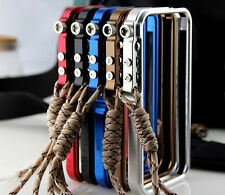 NEW! Cool TRIGGER case Premium Aluminum metal bumper case cover for iPhone 4 4S