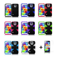 Dynamic Slim Hybrid Cover Case for Samsung Galaxy S5 SM-G900T (T-Mobile)