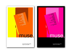 Muse Setlist at Summer Sonic Osaka 2013 ❤ a pair of modernist poster art prints