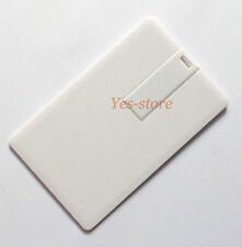 usb 2.0 flash memory drive Blank Business Card 1 GB 2G 4 G 8 16GB
