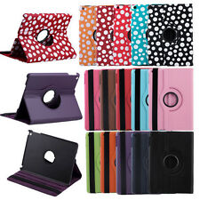 New 360° Swivel Rotating Flip PU Leather Smart Stand Case Cover For iPad Air 5