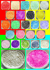 2 to 3MM hollow needles jewelry string of beads 15g colors pick any HOT 1500pcs