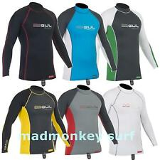 GUL XOLA MEN LONG SLEEVE RASH VEST RASH GUARD dive jetski bodyboard dinghy
