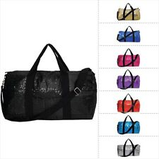 Sequins Cheer Gym Travel Duffle Bag
