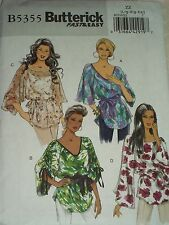 Assorted NEW Butterick Patterns JACKETS, BLOUSES, TOPS Sizes 8-14 & 14-22