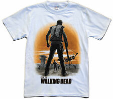 The Walking Dead Daryl's Dixon Back Walkers Official Licensed Adult T-shirt