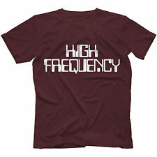 High Frequency T-Shirt in 13 Colours ANALOG SYNTHESIZER LOW FILTER LPF HPF RETRO