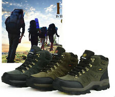 Men's Seude trail outdoor Atheletic casual lace classic Hiking sneaker Shoes