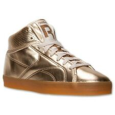 REEBOK T RAWW CLASSIC CASUAL FASHION MID RETRO SNEAKER BRASS GOLD NEW MENS 8-13