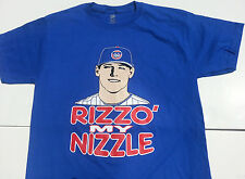 New Chicago Cubs Anthony Rizzo #44 - Rizzo My Nizzle T-shirt, wrigley field