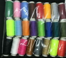100% COTTON SEWING THREAD - VARIOUS COLOURS. Approx 180M per Reel. Brand new.