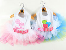 2014 Spring Summer Colorful Bubble Dog Dress Skirt Dog clothing Clothes 2 Colors