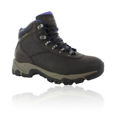 Hi-Tec Womens Altitude V I Brown Leather Waterproof Walking Hiking Boots Shoes