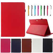 For Samsung Galaxy Tab Pro 12.2 SM-T900 PU Leather Wake / Sleep Stand Case Cover