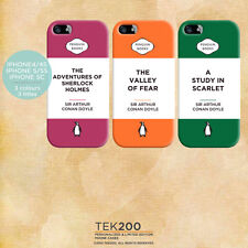 Classic Penguin book Sherlock Holmes iPhone 5 6 phone cover. Arthur Conan Doyle