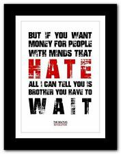 ❤THE BEATLES - Revolution #2 ❤ song lyrics typography poster art print A1 A2 A3