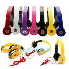 3.5mm Headphone for iPod iPhone 4S 5C 5S PC MP3 MP4 MP5 Earphone Over Ear Stereo