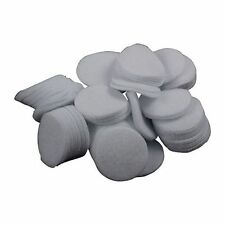 White Cotton Round Gun Cleaning Patches Qty:100/500 - 223/22-270 cal, 5.56-6mm
