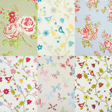 Floral PVC Oilcloth Wipeclean Tablecloth All Sizes Colours & Designs