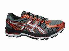 NEW MENS ASICS GEL-KAYANO 20 RUNNING SHOES TRAINERS STORM / WHITE / RUST