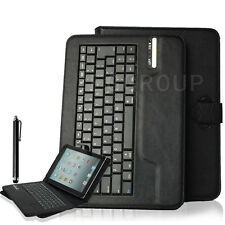 "Black Universal Bluetooth Keyboard Case Cover For 9.7"" 10"" 10.1"" inch Tablet PC"