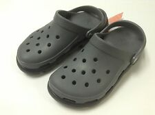 Crocs Duet Sport Clog Charcoal Black Men Size M7 M8 M9 M10 M11 M12 M13 $50 SALE