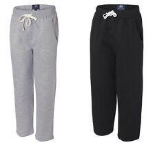 J. America Premium Open Bottom Sweatpants, Black or Grey S-3XL  (8992)