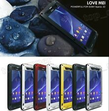 LOVE MEI Shock/ Water/ weather proof Aluminum Case for  Sony  Xperia Z2/L50W