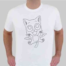 Anime Fairy Tail Happy 3 AN New Cat Black t-shirt (longsleve & hoodie available)