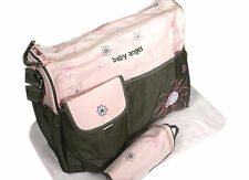 MANY DIFFERENT STYLES of Baby Diaper Nappy Changing Bag Sets [MIXED Circles] AUC