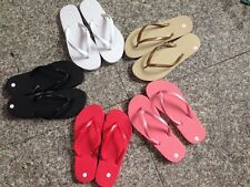 FLIP FLOPS NEW LADIES WOMENS GIRLS BEACH JELLY FLIPFLOPS SANDALS SHOES SIZE