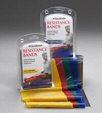 THERA-BAND RESISTANCE MULTI BAND RETAIL PACK PRE CUT 5' EXERCISE TRAINING REHAB