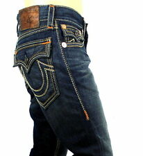 True Religion $328 Men's Ricky Super T Big QT Straight Brand Jeans