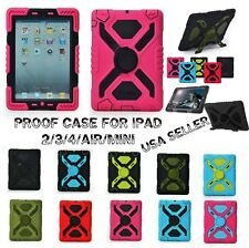 "Shock Proof SPIDER  ""PEPKOO"" Case Cover For iPad 2/3/4/5 AIR MINI (RETAIL BOX)"