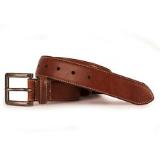 Mens Timberland Earthkeepers Tan Stitched Leather Belt