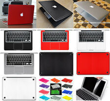 "5in1 3D Carbon Fiber Sticker Keyboard Screen Protector For Macbook Pro 15""A1286"