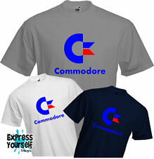 COMMODORE - T Shirt, COMPUTER, Geek, RETRO, 64, PET, Cool, Present, Quality, NEW